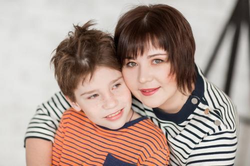 Пыстогов Богдан и мама Анна ЧГОО Я МОГУ!