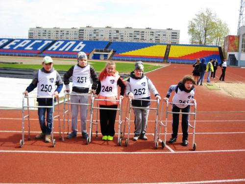 Участие воспитанников БУ СО ВО РЦ Преодоление в соревнованиях по легкой атлетике