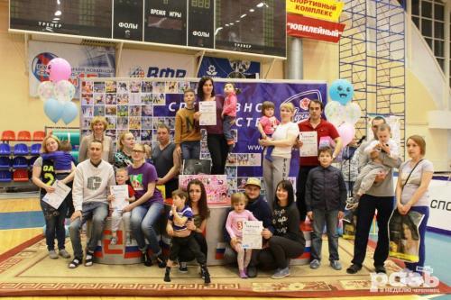 Участие в соревнованиях семей БУ СО ВО РЦ Преодоление